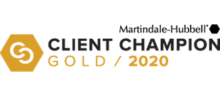 Martindale-Hubbel Client Champion Gold 2020