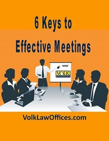 6 Keys to Effective Meetings