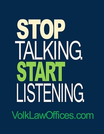 Stop Talking!
