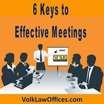 6 Keys to Effective Meetings