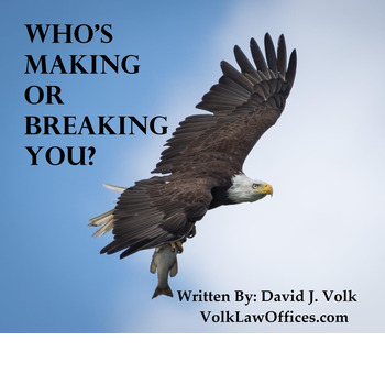 Who's Making or Breaking You?