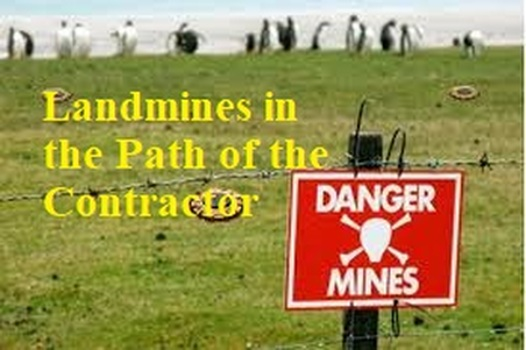 """VolkLaw Attorneys Presented """"Landmines in the Path of the Contractor"""""""