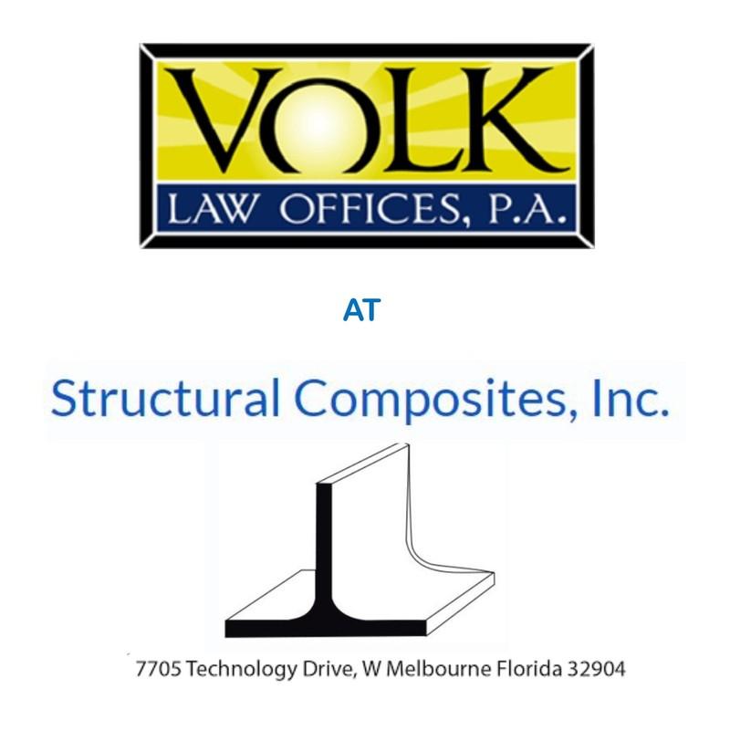 VolkLaw Tours Structural Composites, Inc.