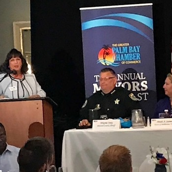 Attorney Michael Dujovne Attended the Palm Bay Chamber of Commerce's 11thAnnual Mayors' Breakfast