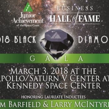 VolkLaw at the Junior Achievement of the Space Coast 32nd Annual Business Hall of Fame 2018 Black Diamond Gala