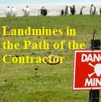 "VolkLaw Attorneys Presented ""Landmines in the Path of the Contractor"""
