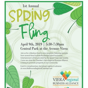 VolkLaw Attorneys Attend the Melbourne Chamber 1st Annual Spring Fling at the Avenue in Viera