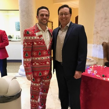 Attorneys Attend the Melbourne Chamber's Mix, Mingle and Jingle Celebration